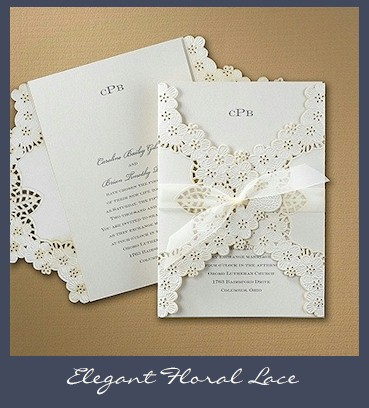 lace wedding invitations, Wedding invitations