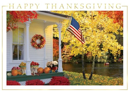 Home is Calling Thanksgiving Card