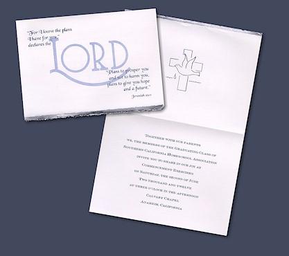 Christian Graduation Announcements – Religious Graduation Invitations