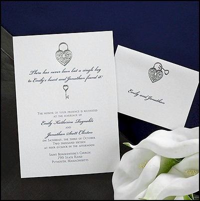 key to my heart wedding
