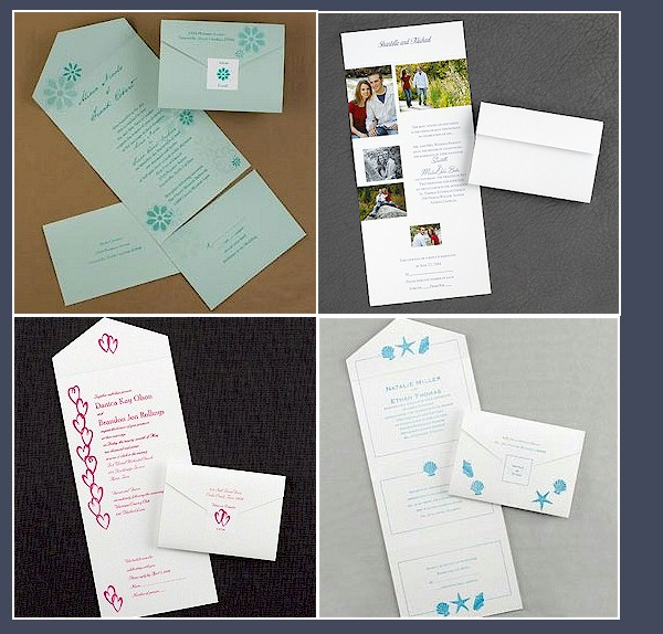 budget friendly wedding invite - When To Mail Wedding Invitations